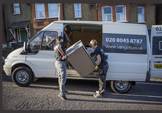 Image of Van Girls, illustrating the employment law implications of women-only businesses