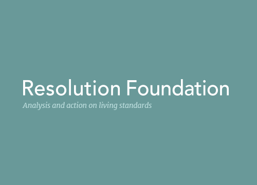Logo of resolution foundation to illustrate article on minimum wage